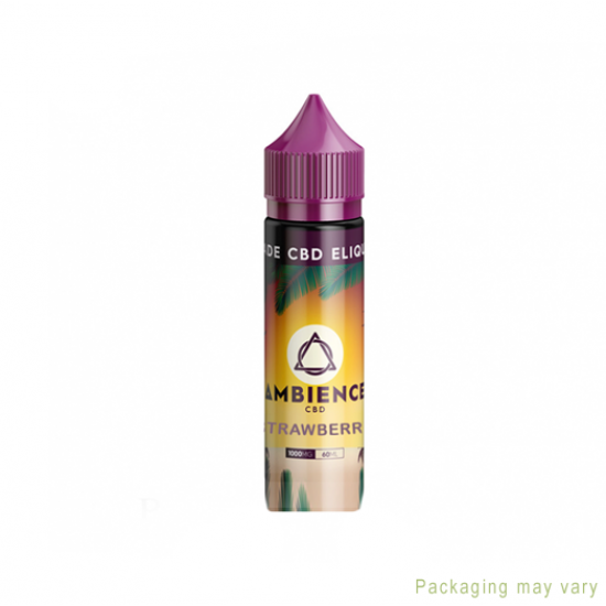 Ambience Strawberry CBD eLiquid 1000mg
