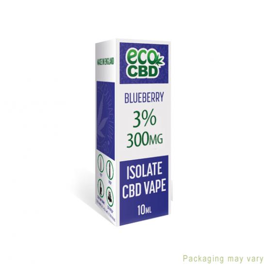ECO Blueberry CBD eLiquid 300mg