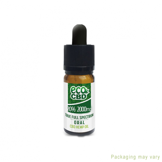 ECO CBD Paste Full Spectrum CBD Oil 1000mg